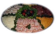 Sliced Meat And Cheese Tray