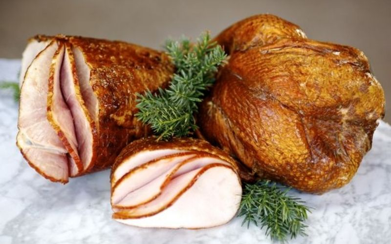 order a honey kissed ham or turkey from the hamlet